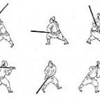 君子劍雙手劍法十三字/Junzi Jian Shuangshou Jianfa Shisan Zi – Gentleman's Sword Two Handed Sword Method Thirteen Characters